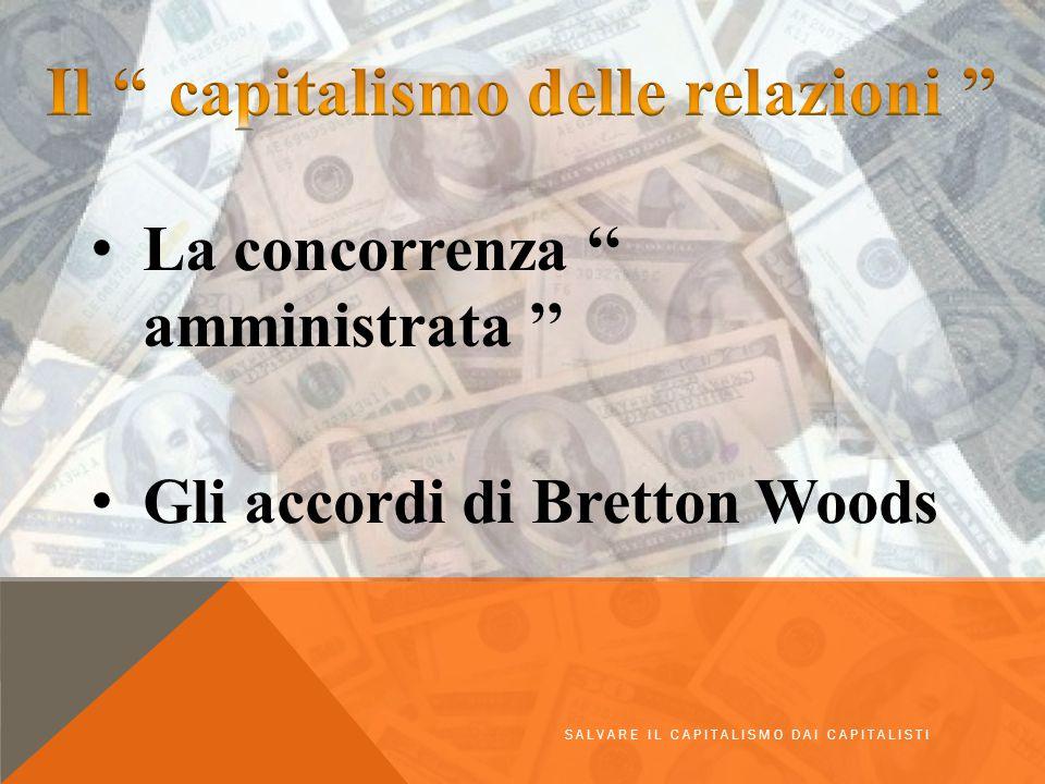 Il '' capitalismo delle relazioni ''