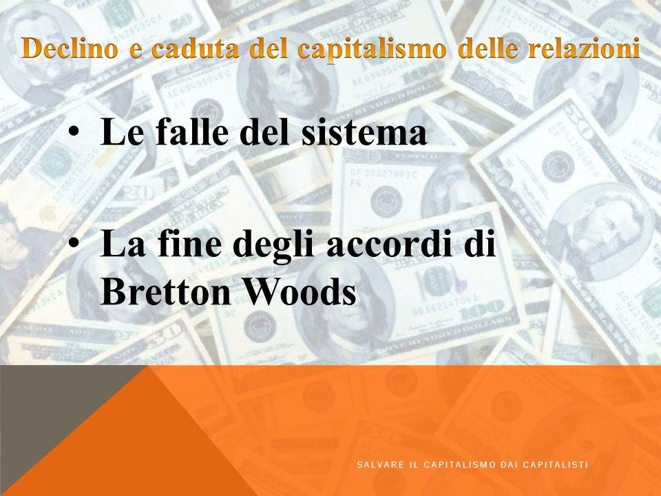 Declino e caduta del capitalismo delle relazioni