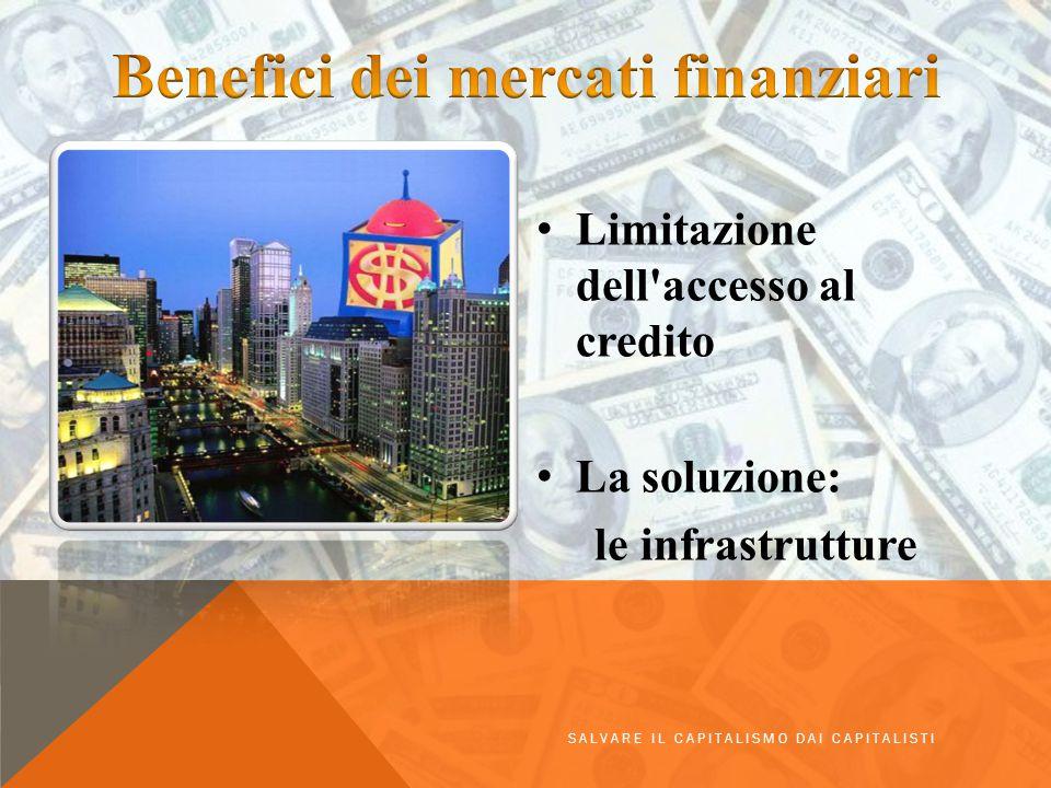 Benefici dei mercati finanziari