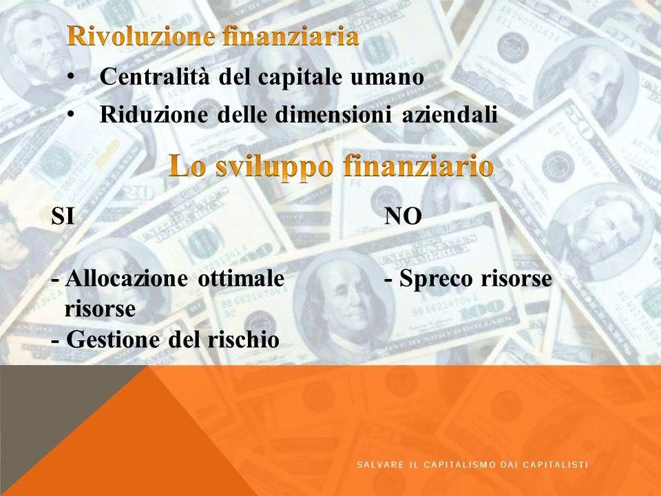 Lo sviluppo finanziario