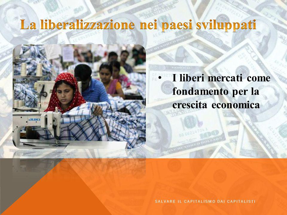 La liberalizzazione nei paesi sviluppati