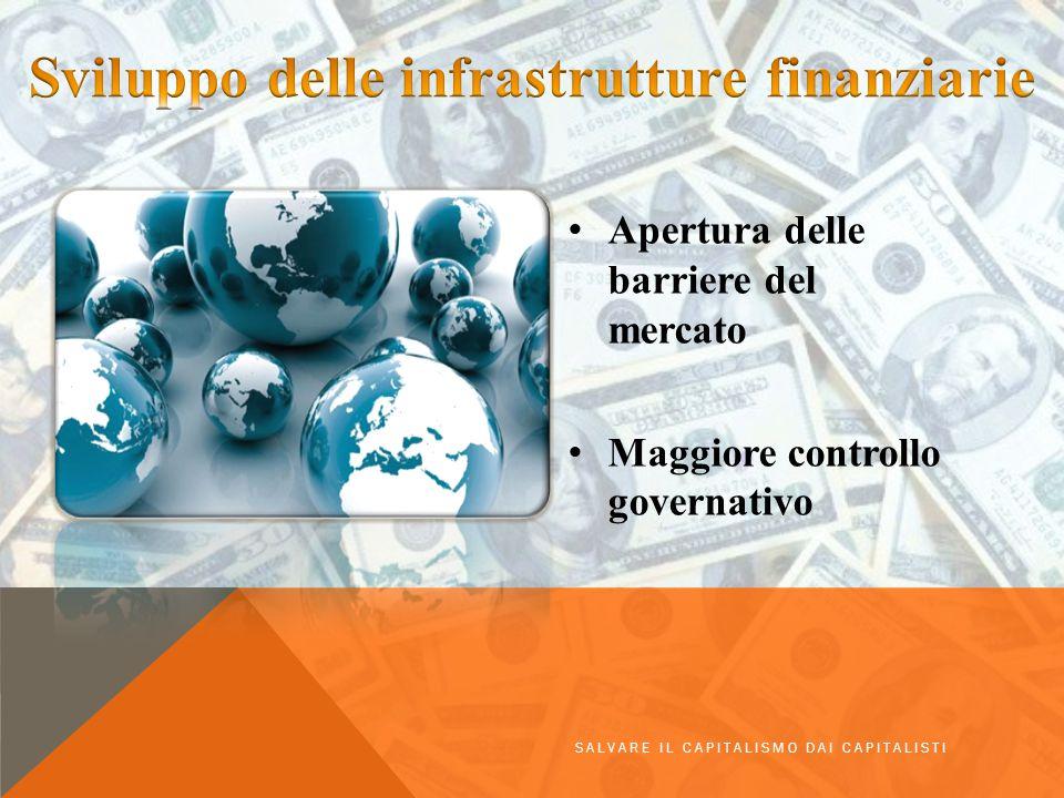 Sviluppo delle infrastrutture finanziarie