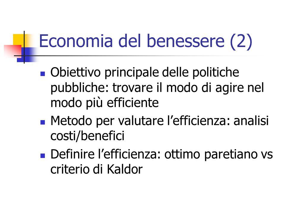 Economia del benessere (2)