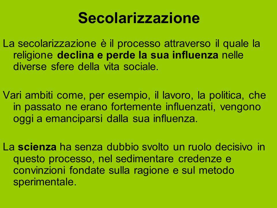 Secolarizzazione