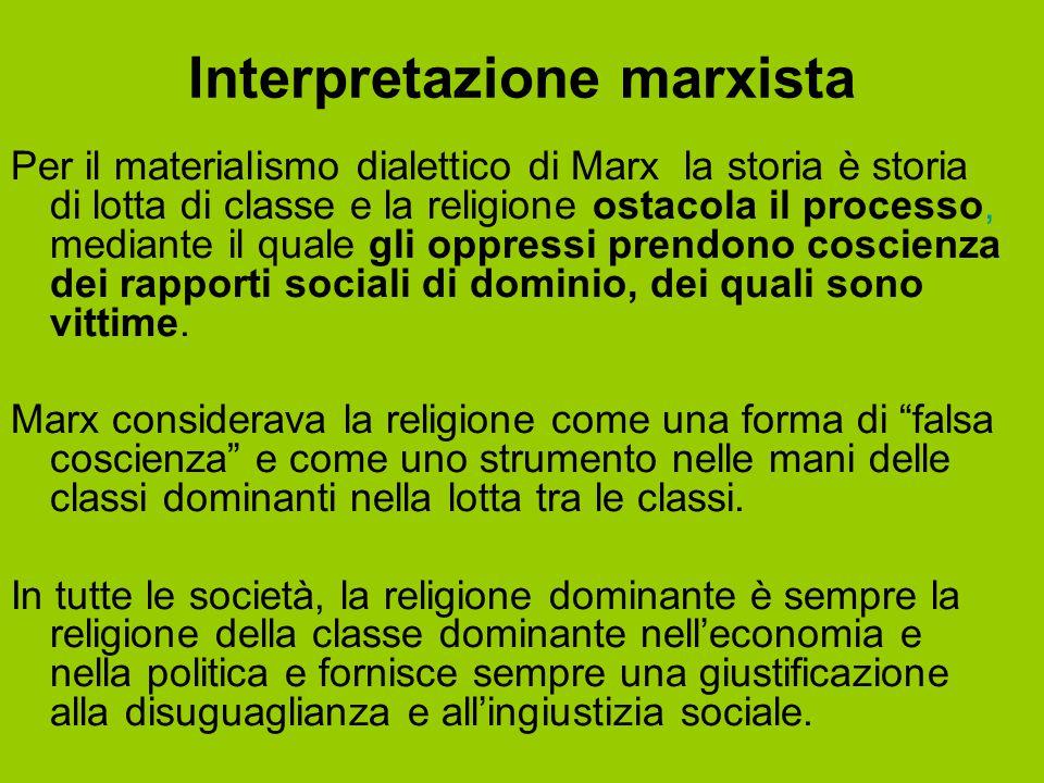 Interpretazione marxista