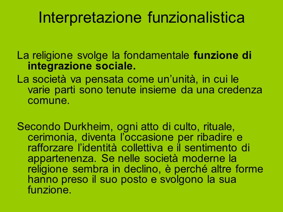 Interpretazione funzionalistica