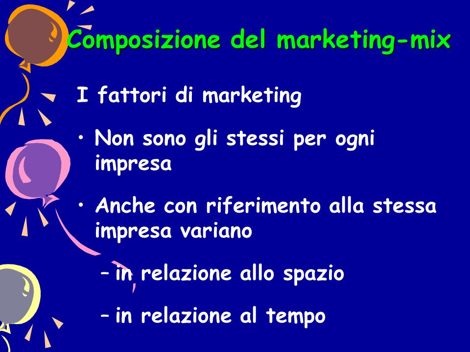 Composizione del marketing-mix