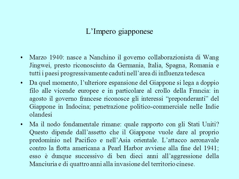 L'Impero giapponese