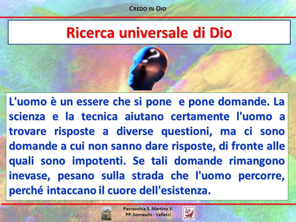Ricerca universale di Dio