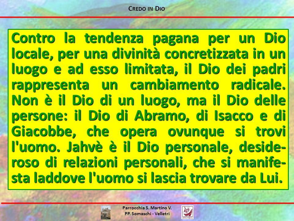 Credo in Dio