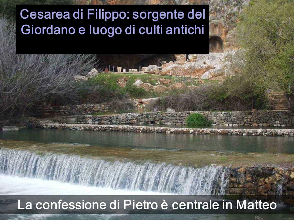 Cesarea di Filippo: sorgente del Giordano e luogo di culti antichi