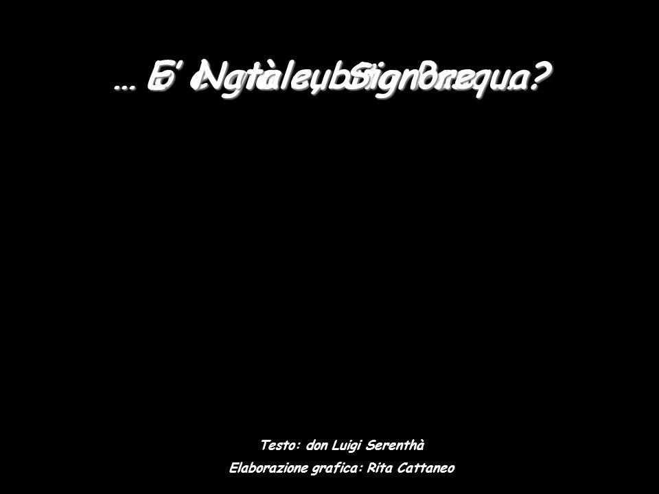 Testo: don Luigi Serenthà Elaborazione grafica: Rita Cattaneo