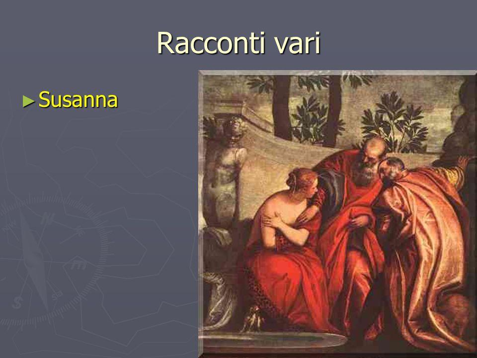 Racconti vari Susanna