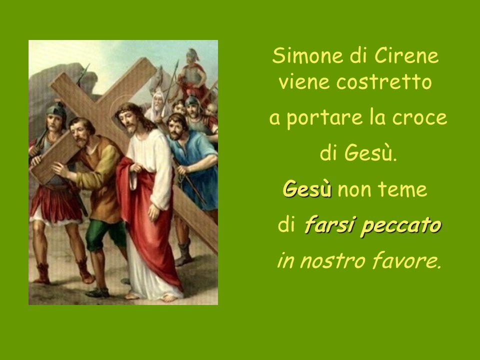 Simone di Cirene viene costretto