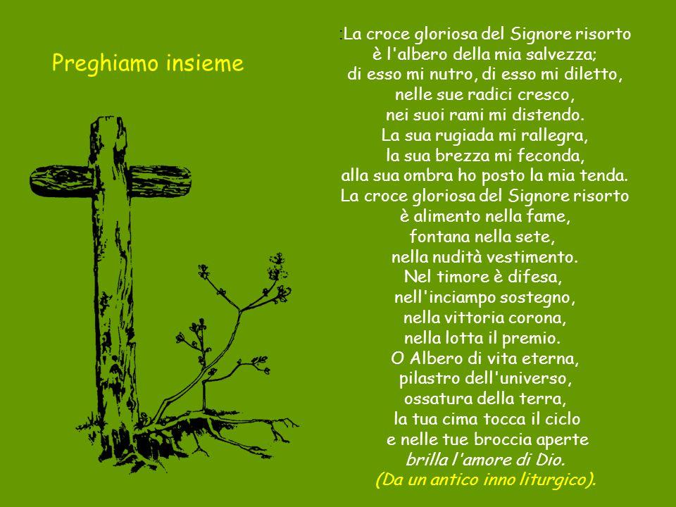 Preghiamo insieme :La croce gloriosa del Signore risorto