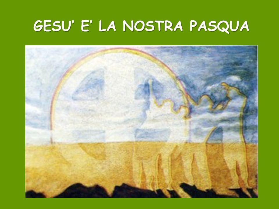 GESU' E' LA NOSTRA PASQUA