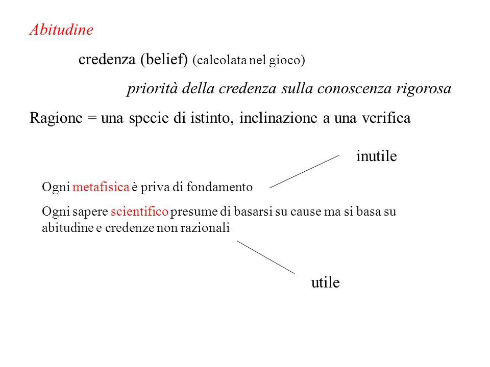 credenza (belief) (calcolata nel gioco)