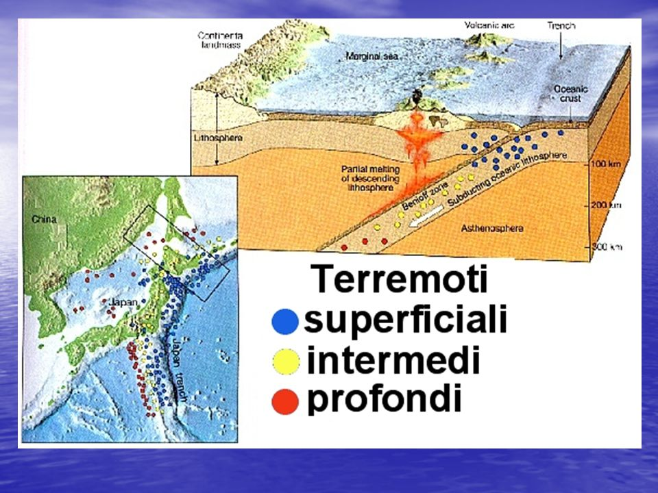 La profondità dei terremoti