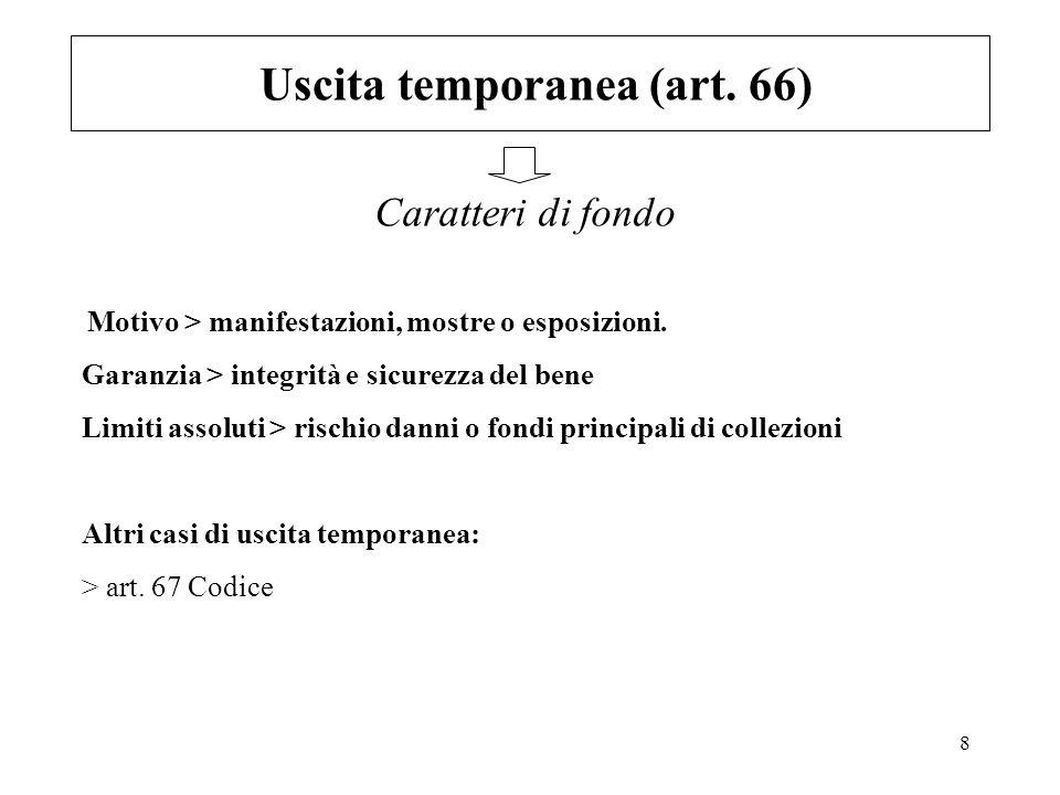 Uscita temporanea (art. 66)