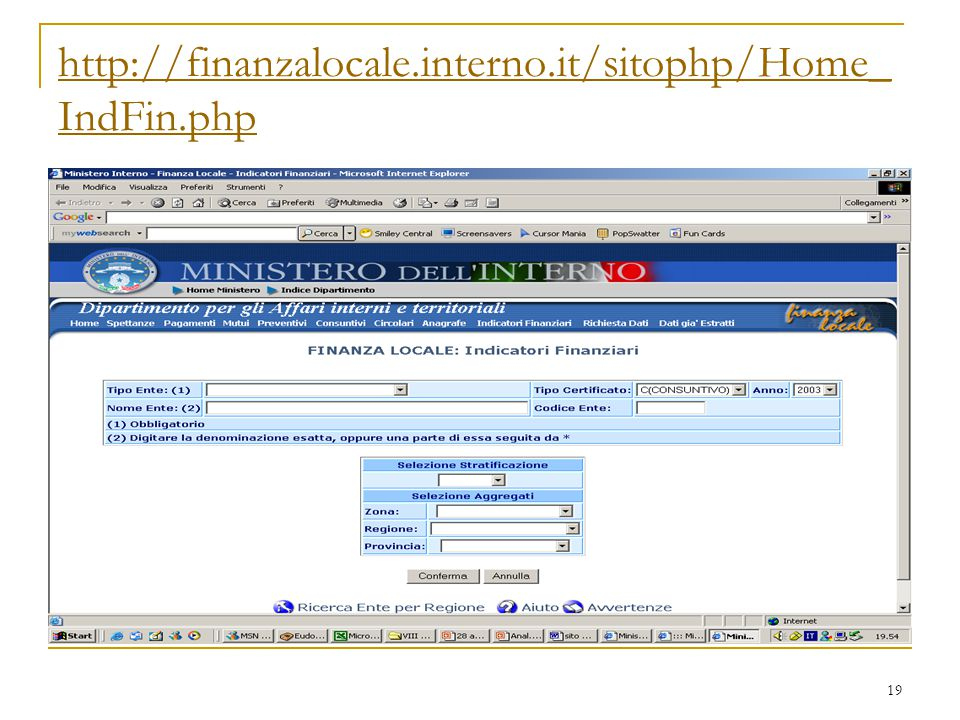 http://finanzalocale.interno.it/sitophp/Home_IndFin.php