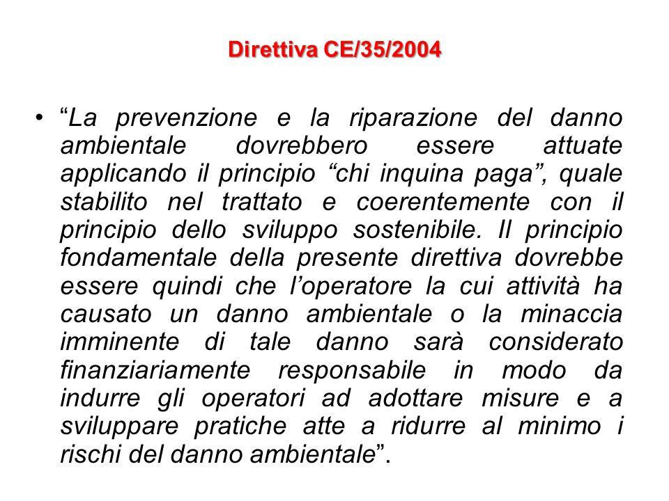 Direttiva CE/35/2004