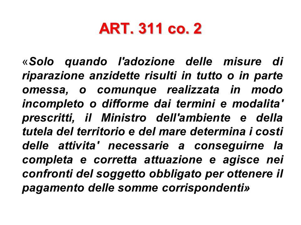 ART. 311 co. 2