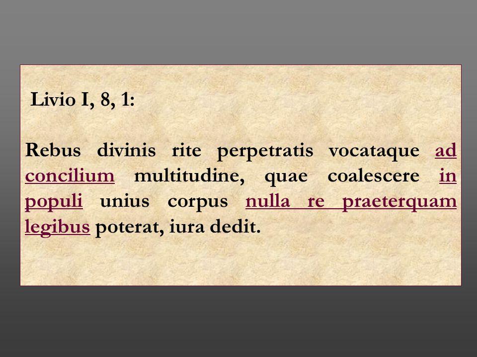 Livio I, 8, 1:
