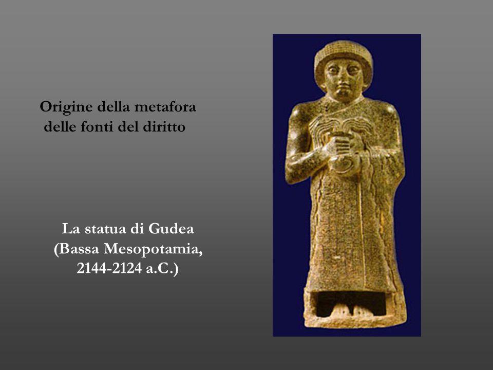 La statua di Gudea (Bassa Mesopotamia, 2144-2124 a.C.)
