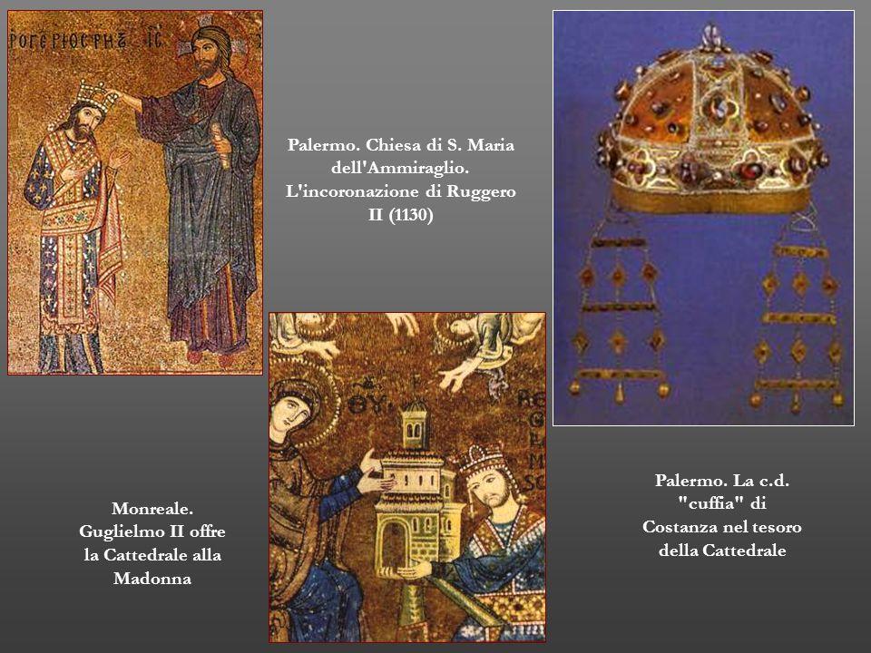 Palermo. La c.d. cuffia di Costanza nel tesoro della Cattedrale