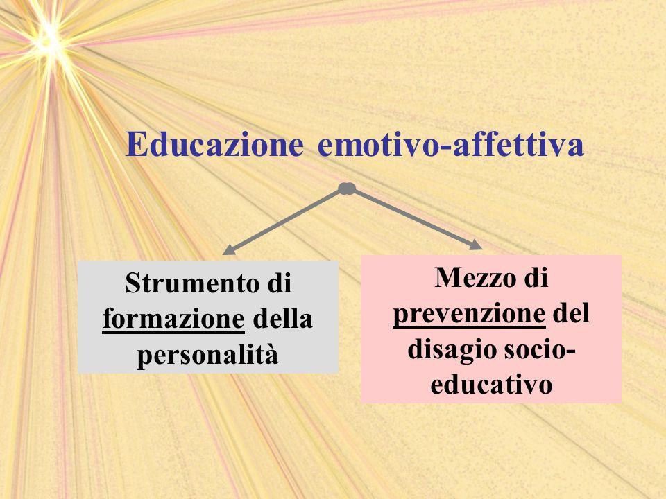 Educazione emotivo-affettiva