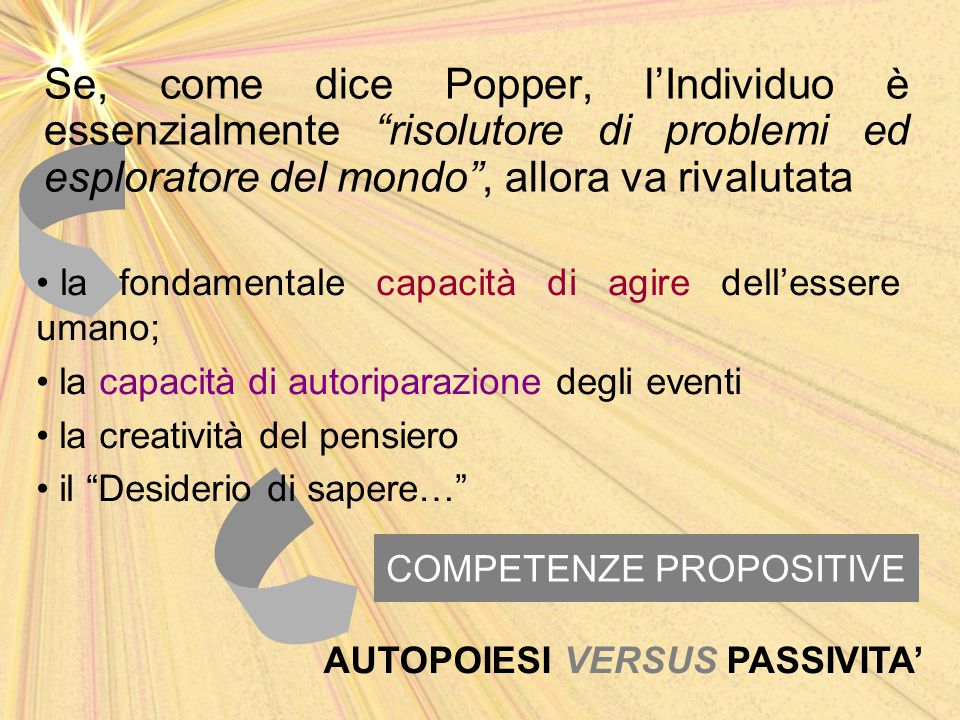 COMPETENZE PROPOSITIVE
