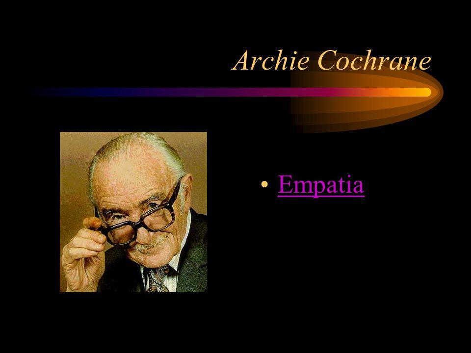 Archie Cochrane Empatia