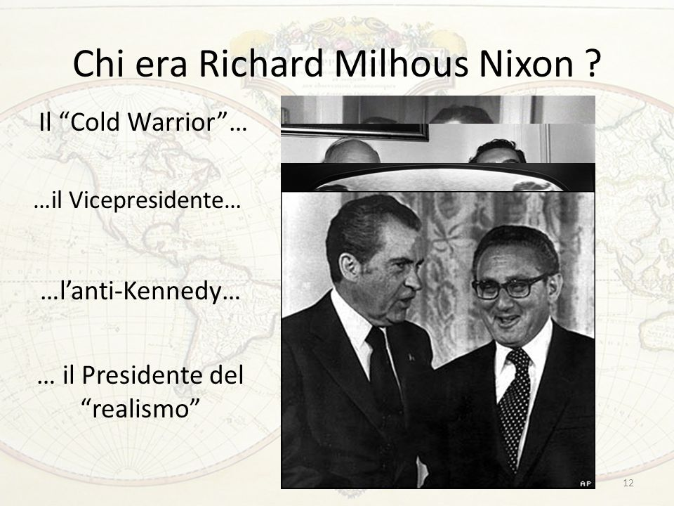 Chi era Richard Milhous Nixon