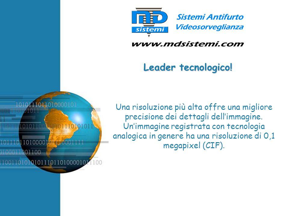 Leader tecnologico!
