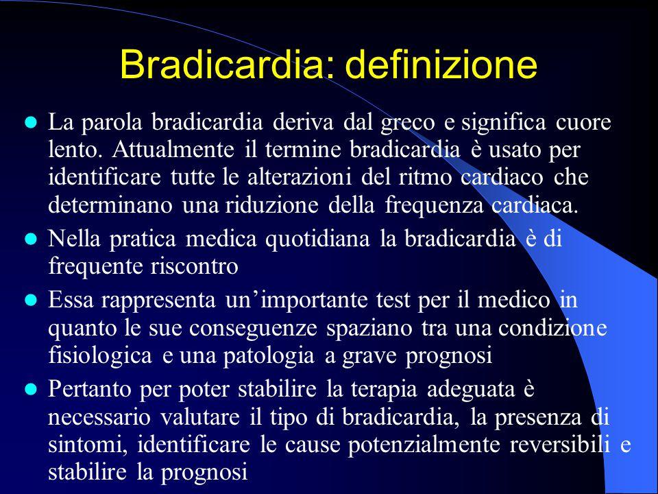 Bradicardia: definizione
