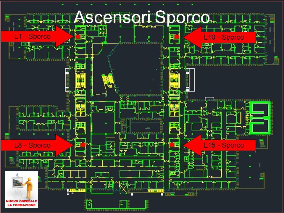 Ascensori Sporco L1 - Sporco L10 - Sporco L8 - Sporco L15 - Sporco