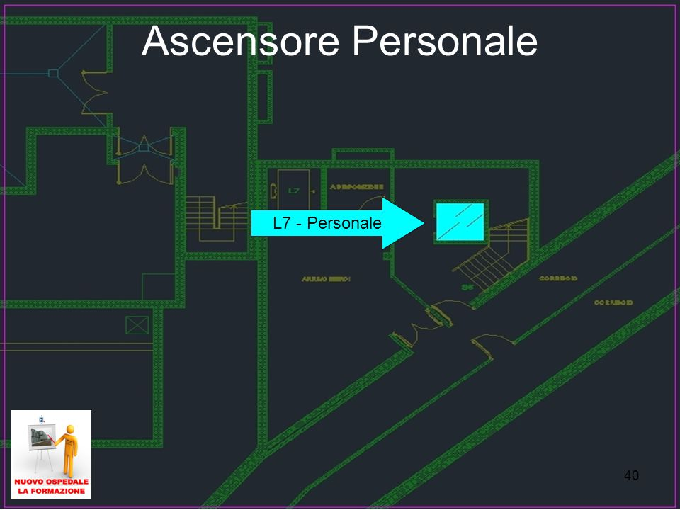 Ascensore Personale L7 - Personale 40