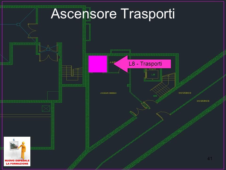 Ascensore Trasporti L8 - Trasporti 41