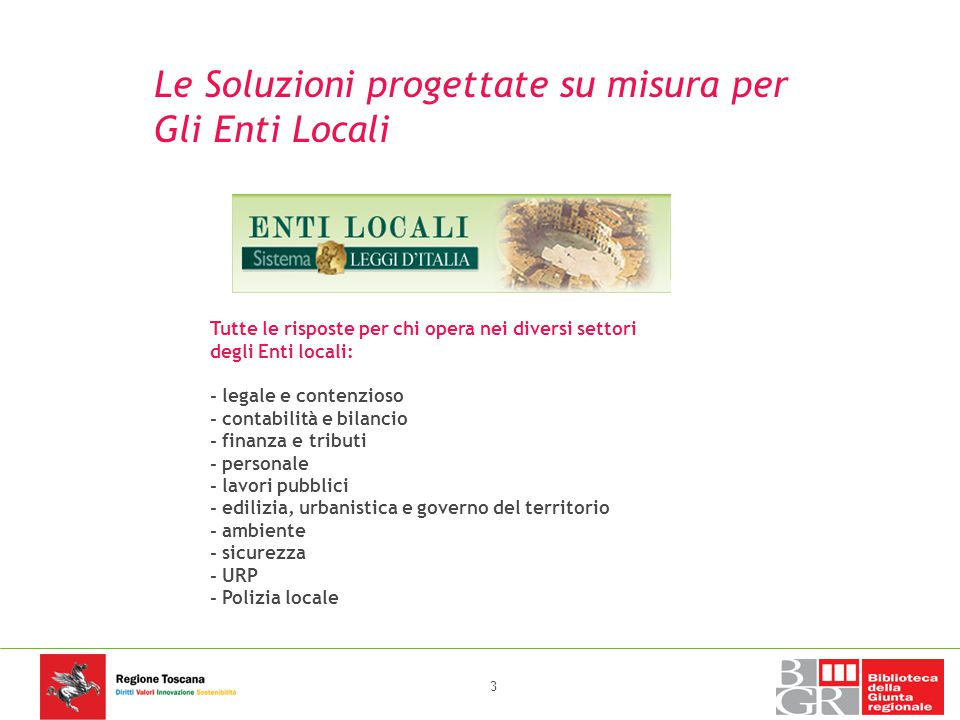 Le Soluzioni progettate su misura per Gli Enti Locali