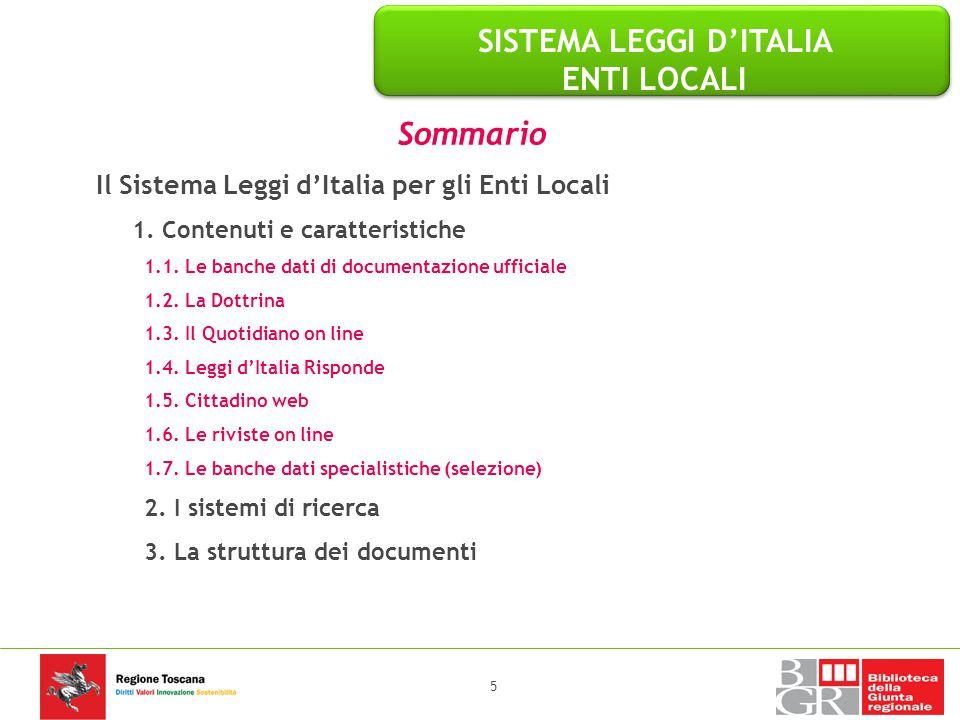 SISTEMA LEGGI D'ITALIA ENTI LOCALI SISTEMA LEGGI D'ITALIA ENTI LOCALI
