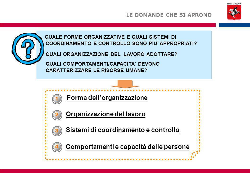 Forma dell'organizzazione