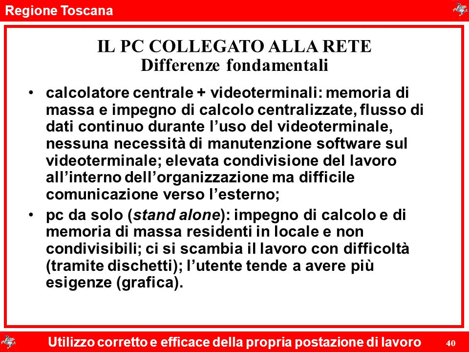Differenze fondamentali