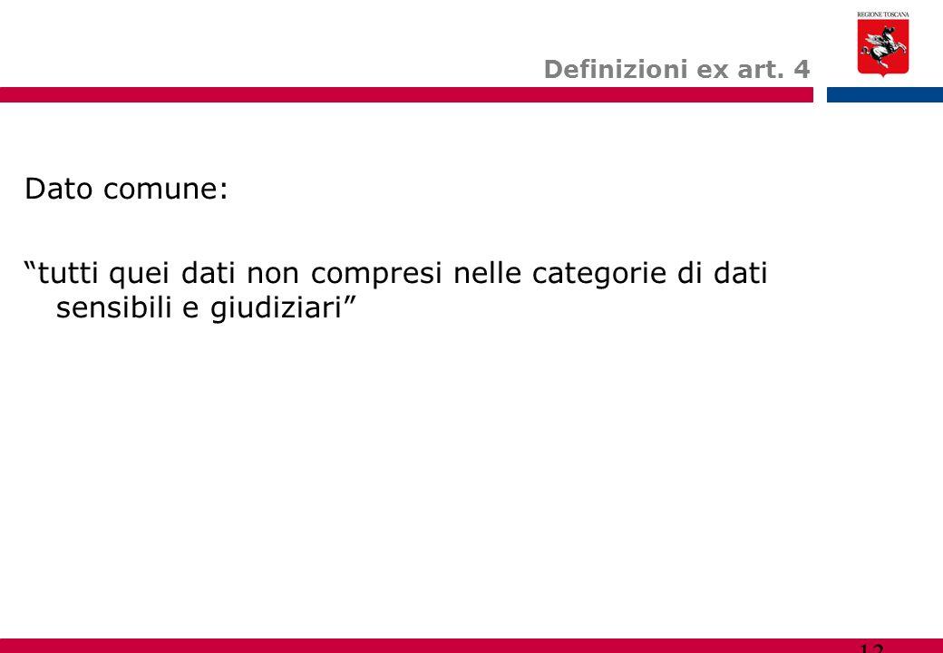 Definizioni ex art.