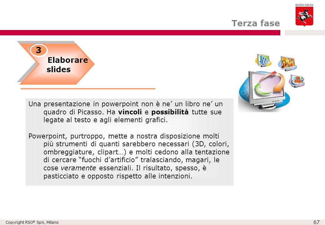 Terza fase 3 Elaborare slides