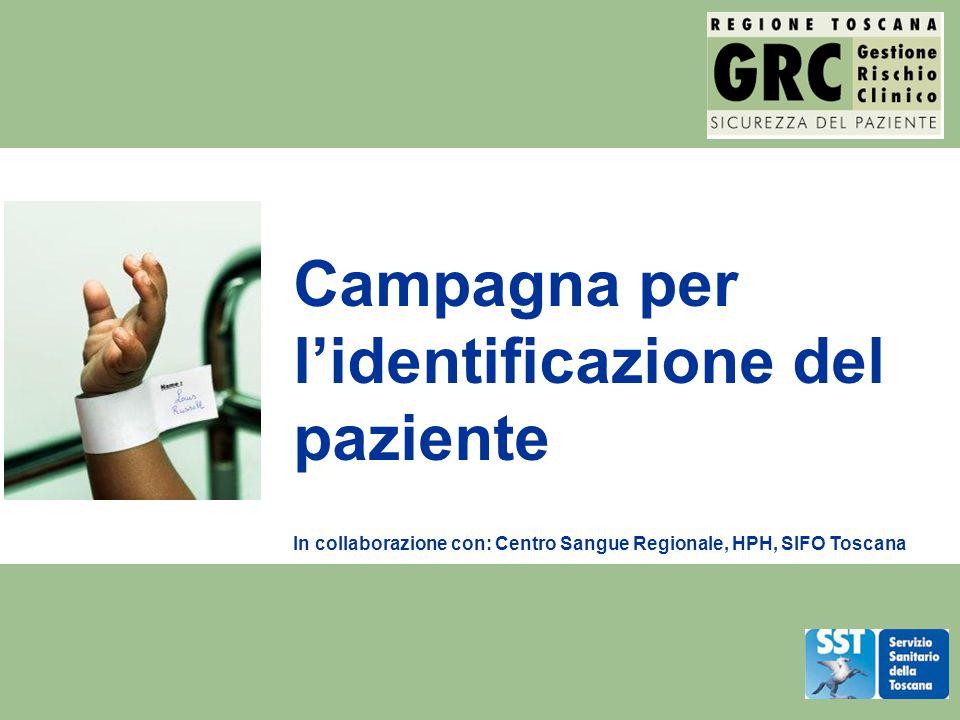 Campagna per l'identificazione del paziente