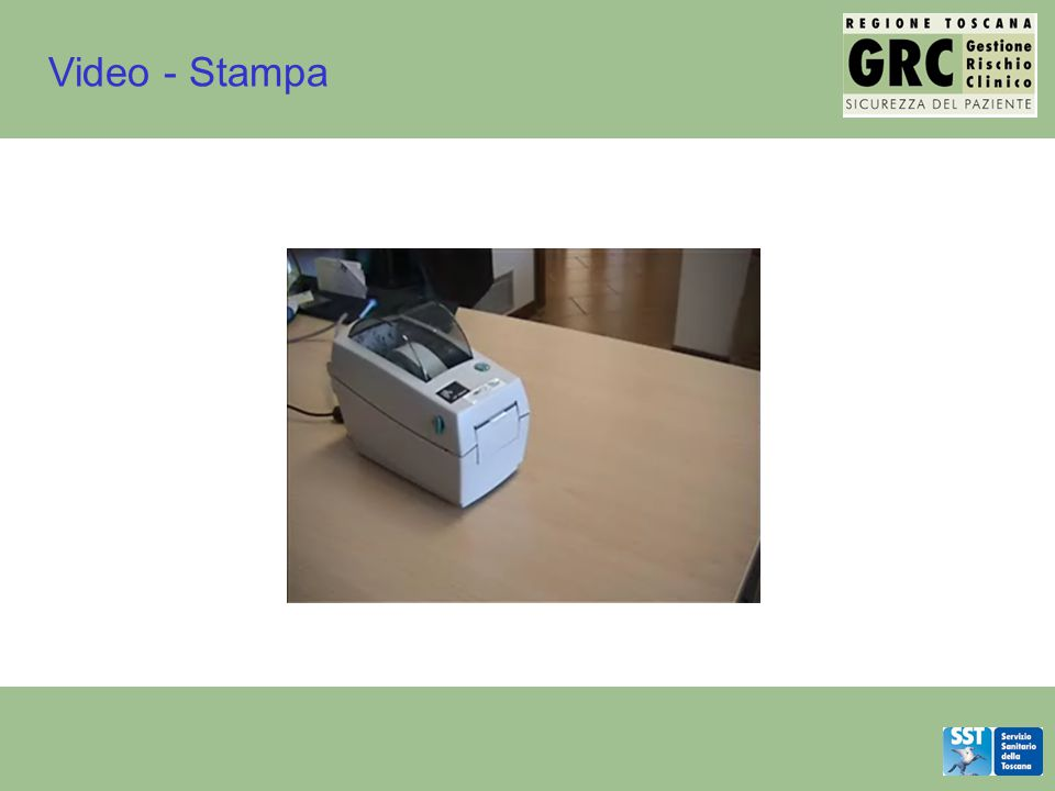 Video - Stampa