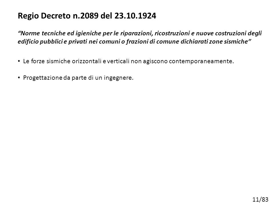 Regio Decreto n.2089 del 23.10.1924