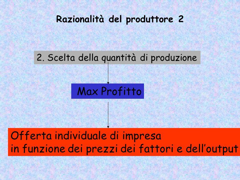 Razionalità del produttore 2