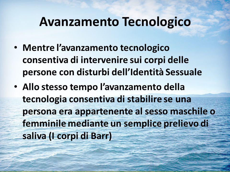Avanzamento Tecnologico