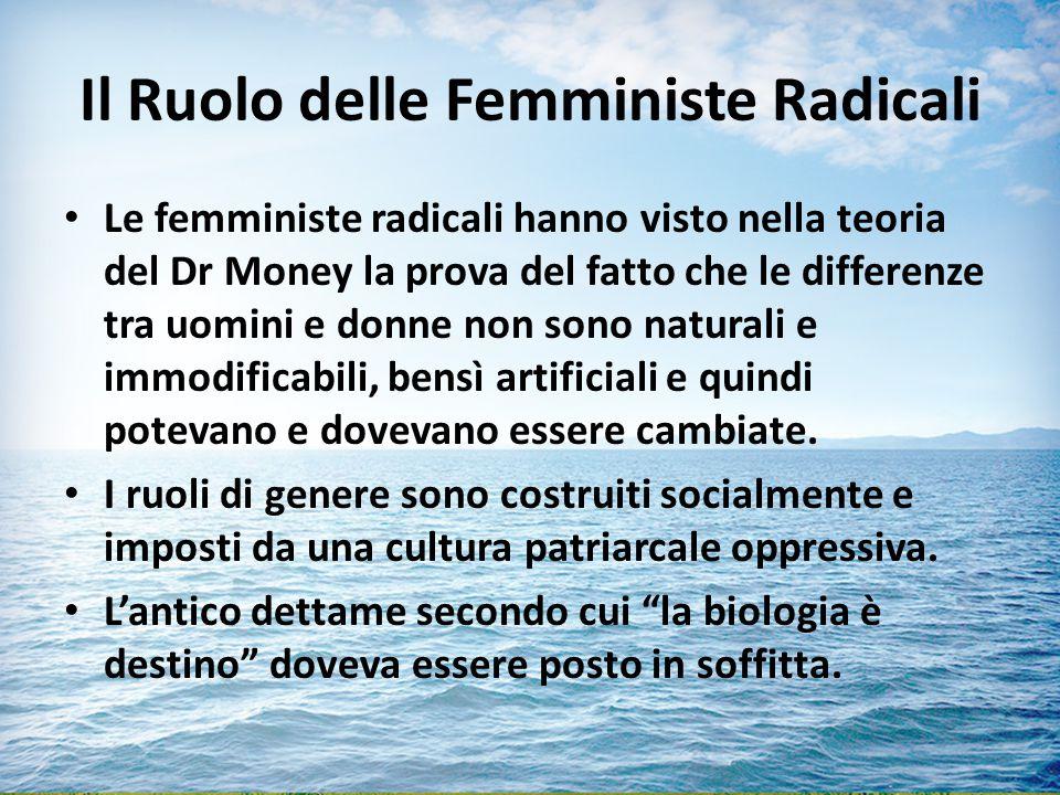 Il Ruolo delle Femministe Radicali